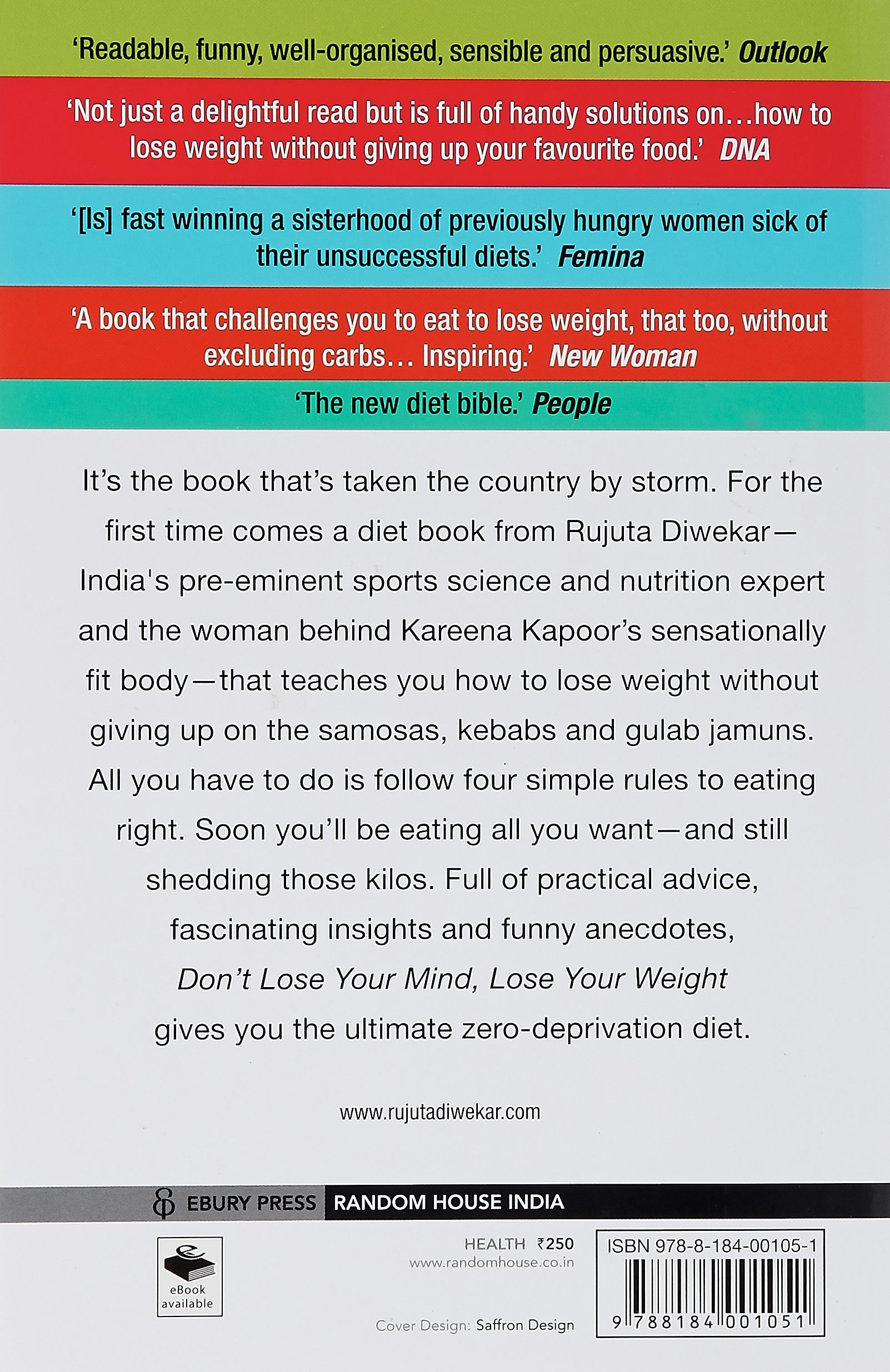 Dont Lose Your Mind Weight Rujuta Diwekar 8601411034718 Amazon Books