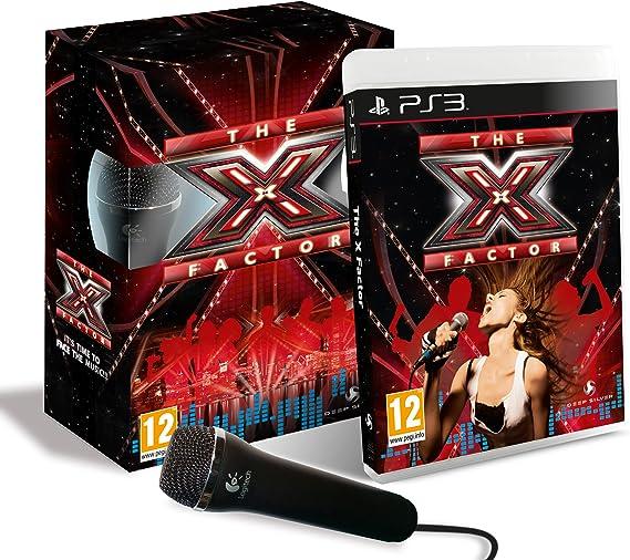 X-Factor : Dual Mic Pack (PS3) [Importación inglesa]: Amazon.es ...