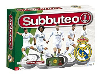 Real Madrid Playset Subbuteo, new edition, color blanco (Eleven Force 81038)