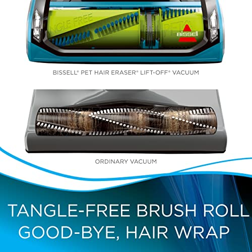 The tangle-free brush roll will effectively deal with hair
