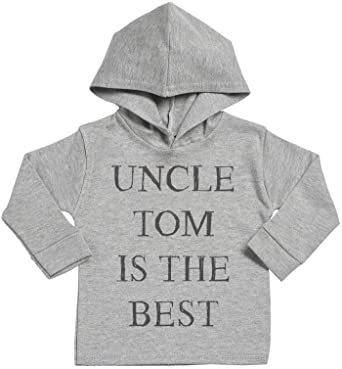 Spoilt rotten sr personalised uncle custom is the best baby cotton spoilt rotten sr personalised uncle custom is the best baby cotton baby hoodie personalised baby gift personalised baby clothing amazon negle Gallery
