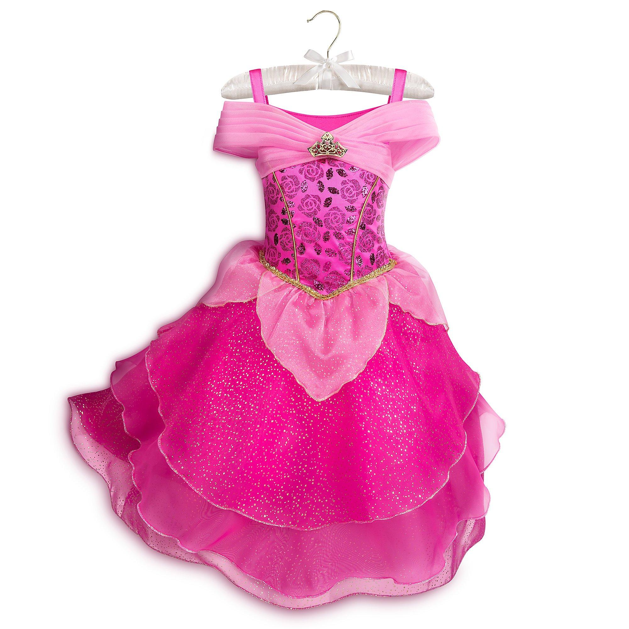 Disney Aurora Costume for Kids - Sleeping Beauty Size 5/6 Pink