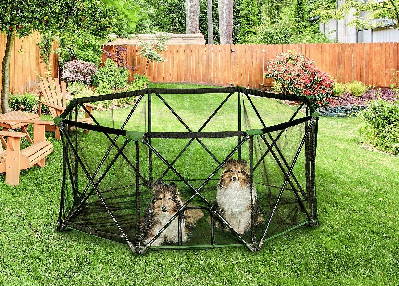 portable dog camp pen
