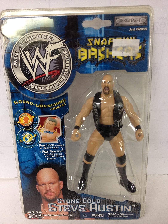 Stone Cold Steve Austin WWF Snappin Bashers with Sound Jakks