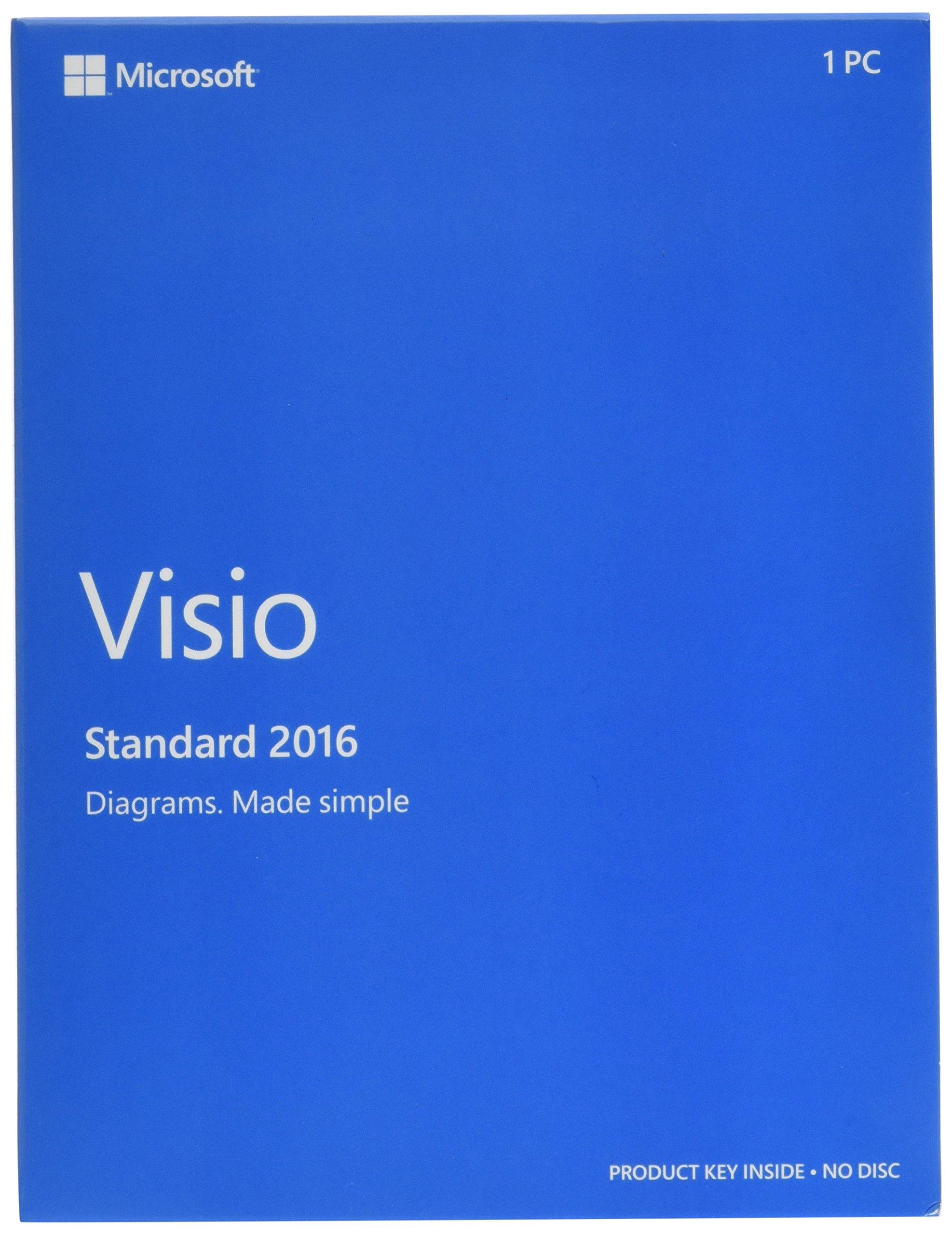 Microsoft Visio Standard 2016 by Microsoft