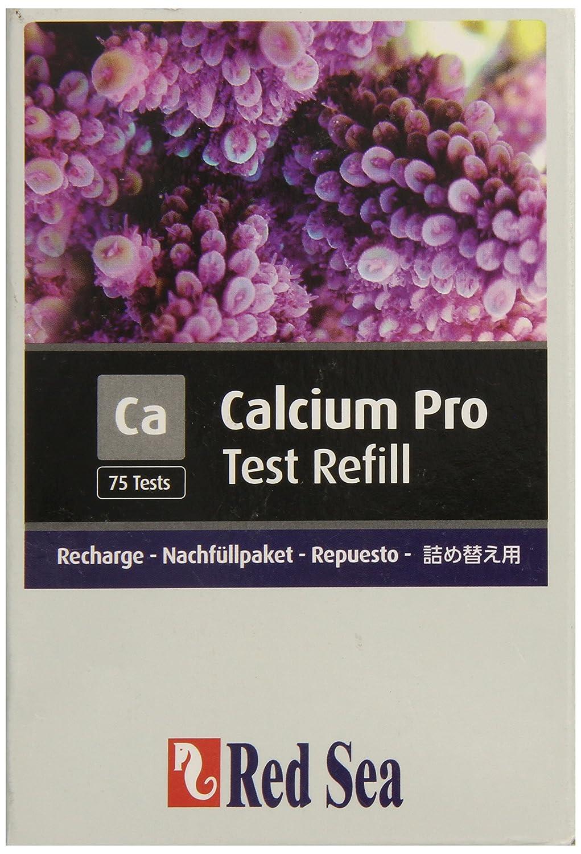 Red Sea Fish Pharm ARE21406 Reagent Calcium Pro Refill Kit for Aquarium 75 Tests