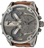 Diesel Men's DZ7413 Chronograph Quartz Brown Watch