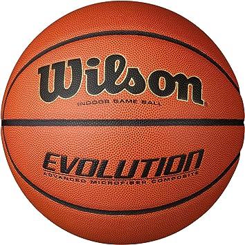Wilson Pelota de Baloncesto Evolution Cuero sintético Interior y ...