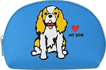 Marc Tetro Cavalier King Charles Mini Cosmetic Bag