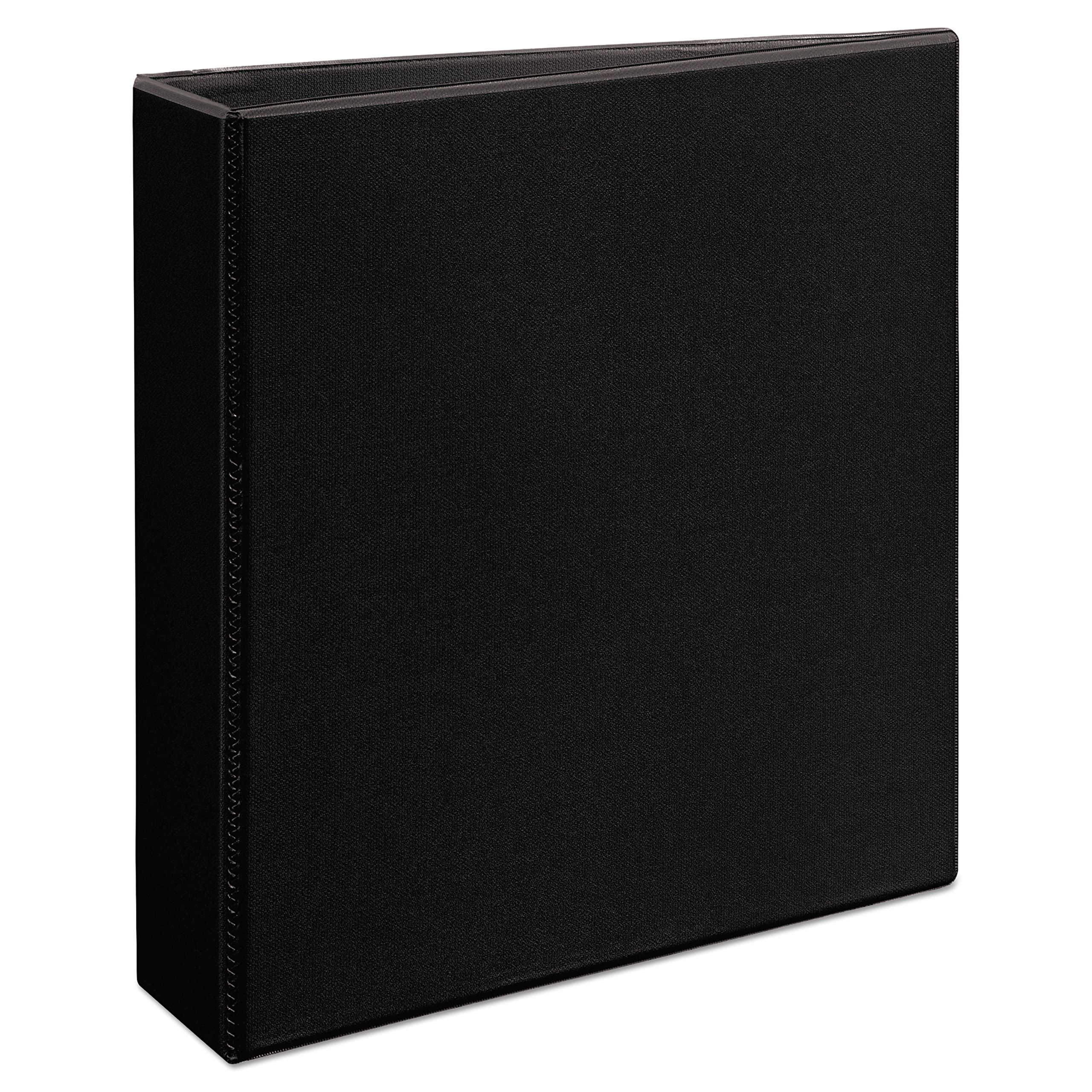 Avery Heavy-Duty View Binder, 2'' One-Touch Slant Rings, 500-Sheet Capacity, DuraHinge, Black (79692)