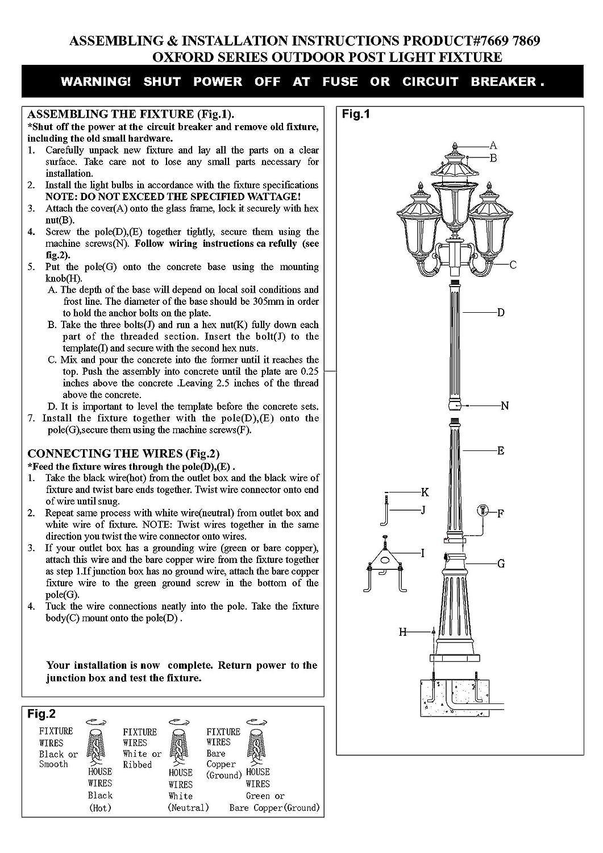 amazon com : livex lighting 7869-04 oxford 4 light outdoor 4 head post,  black : outdoor post lights : garden & outdoor