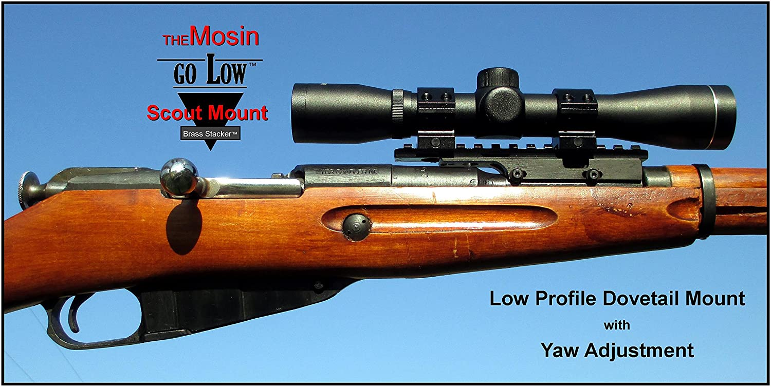 Mosin Nagant M9130 M9159 Go Low Scout Monte Carlo Rifle Stock Gunsmith Cleaning Parts Diagram Scope Mount Made In Usa Sports Outdoors