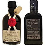 Gourmet Oil and Vinegar Sets - Thick, sweet, balsamic and 100% pure extra virgin olive oil (Set 1)