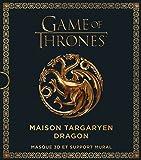 Game Of Thrones, Maison Targaryen Dragon - Masque 3D et support mural