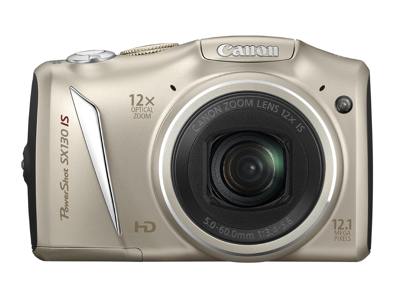 Canon PowerShot SX130 IS Digital Camera - Silver: Amazon.co.uk: Camera &  Photo