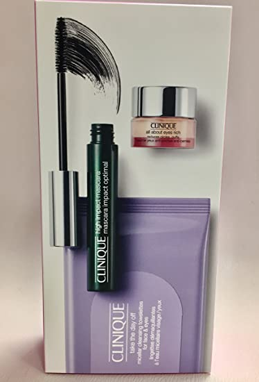 d65cf098087 Image Unavailable. Image not available for. Color: Clinique High Impact  Mascara Set Black