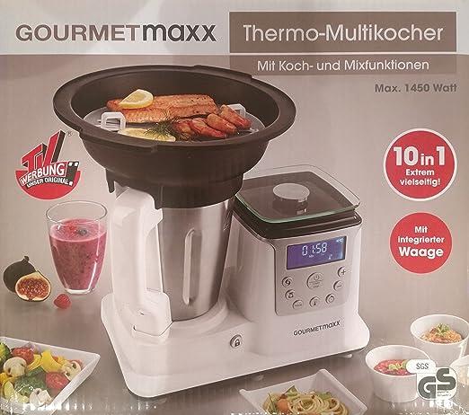 Gourmet Maxx – térmica – Robot de cocina con cocción y función Mix ...