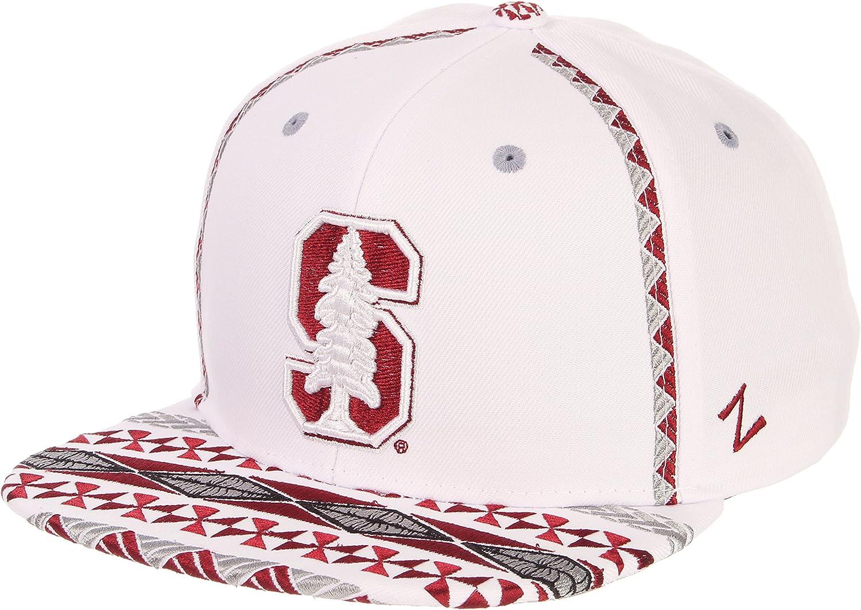Adjustable Zephyr Mens Pukalani Snapback Hat White