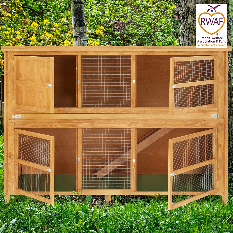 age amazon rabbit pet handmade sale new ecoflex for garden outdoors hutch dp hutches uk indoor co
