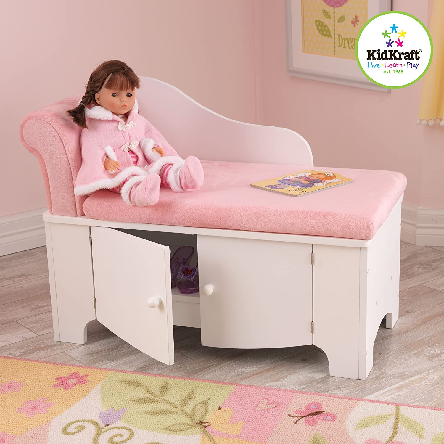 Amazon KidKraft Girl s Princess Chaise Lounge Toys & Games