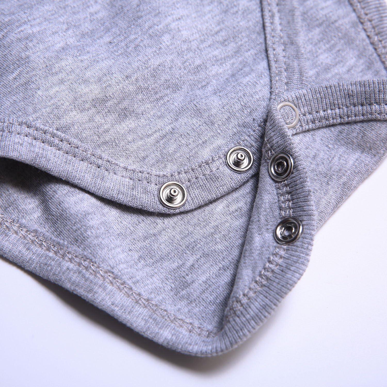 confezione da 3 pezzi unisex OPAWO Body in cotone per neonati