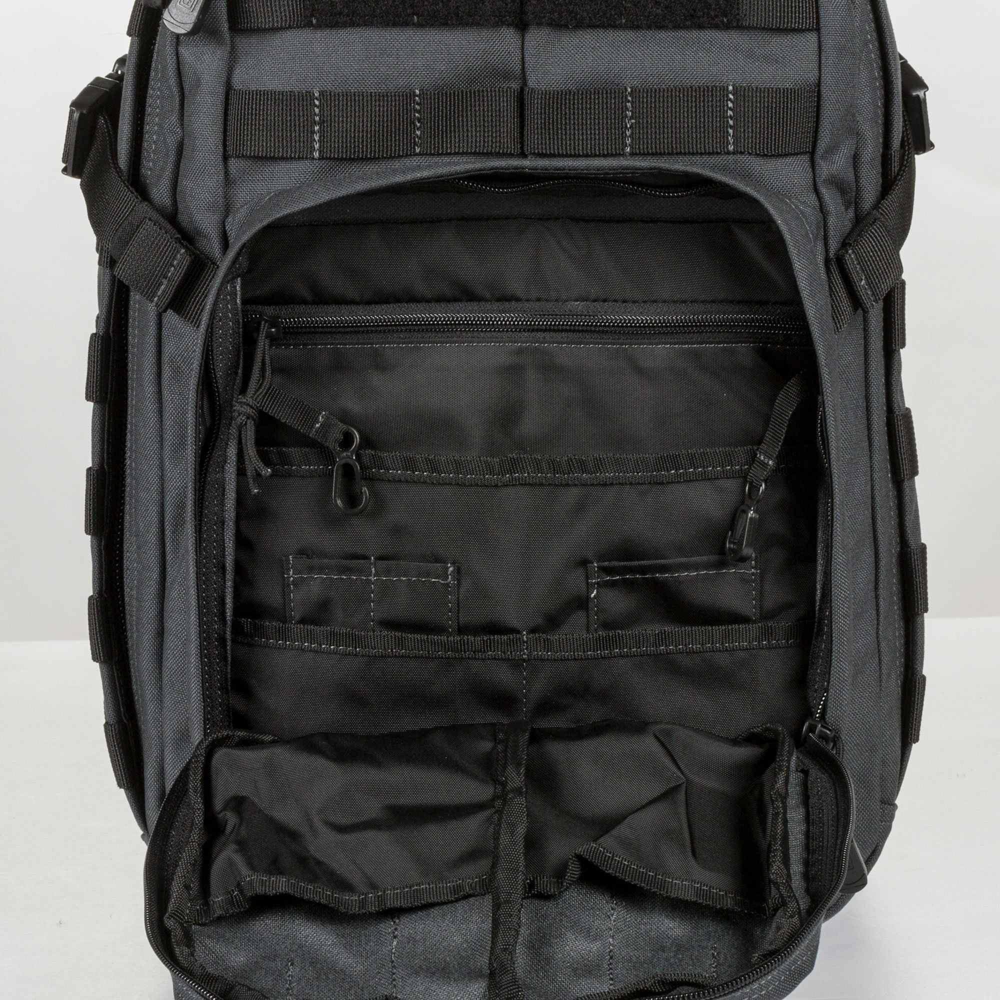 5.11 RUSH12 Tactical Military Assault Molle Backpack, Bug Out Rucksack Bag, Small, Style 56892, Black by 5.11 (Image #4)