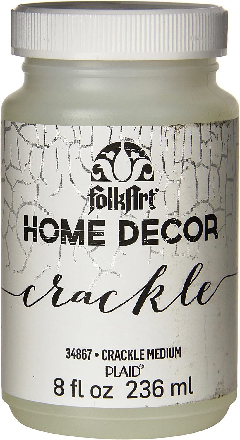FolkArt Home Decor Chalk Furniture & Craft Paint in Assorted Colors, 8 ounce, Crackle