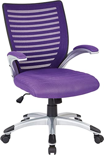 Work Smart Mesh Seat and Screen Back Managers Chair