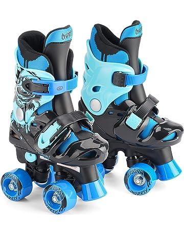 a8f2cf580fc Osprey Children s Adjustable Roller Skates - Kids 4 Wheel Quad Skates