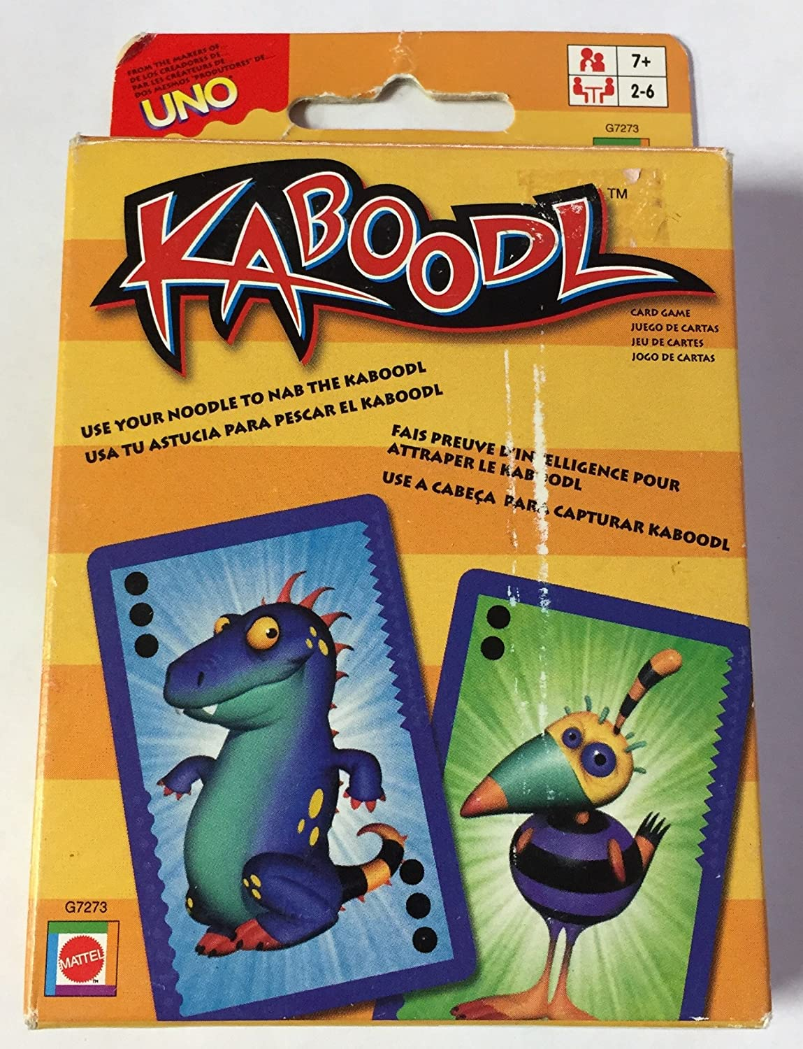 Amazon.com: Kaboodl Card Game by MATTEL New: Toys & Games