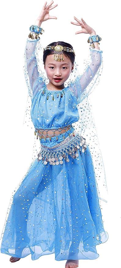 Astage Niñas Manga Larga De Danza Ropa Faldas Disfraz De Elegent ...