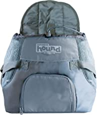 Outward Hound Kyjen 21007 PoochPouch Front Carrier For Dogs Easy-Fit Adjustable Dog Carrier, Small, Grey