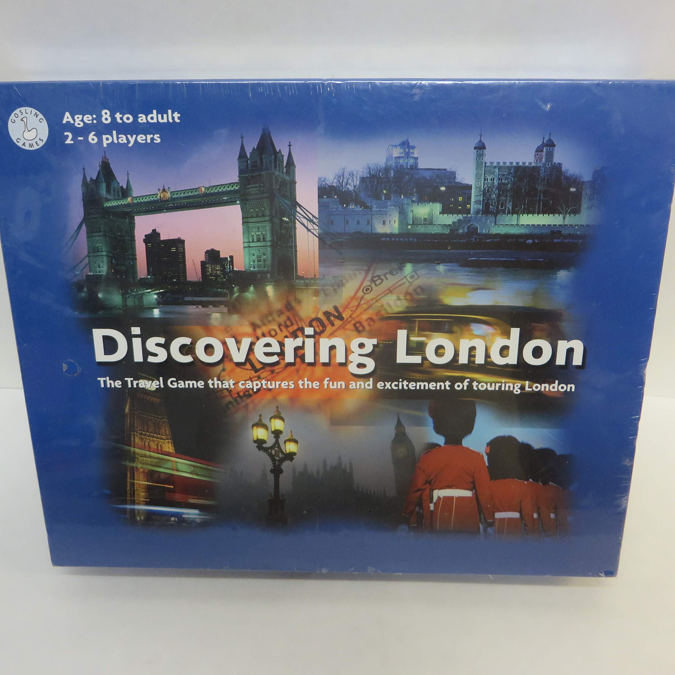 Discovering London: The Travel Game that Captures the Fun and Excitement of Touring London by Gosling Games Ltd. (Image #1)