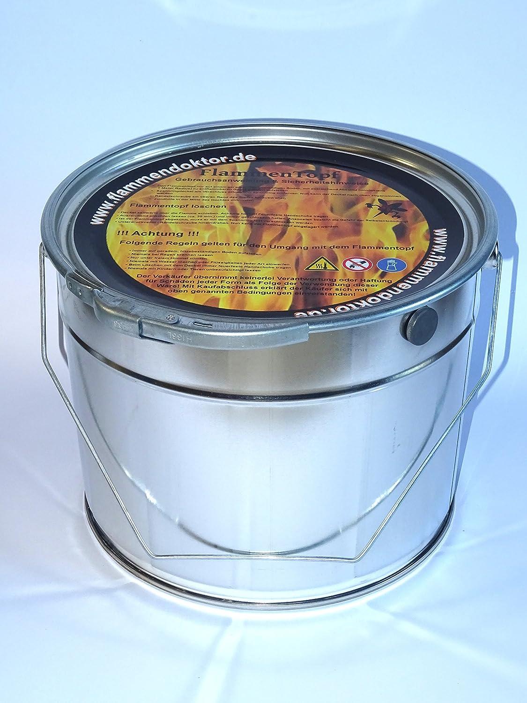 Flammentopf 6 Liter / 2 Stück FlammenDoktor