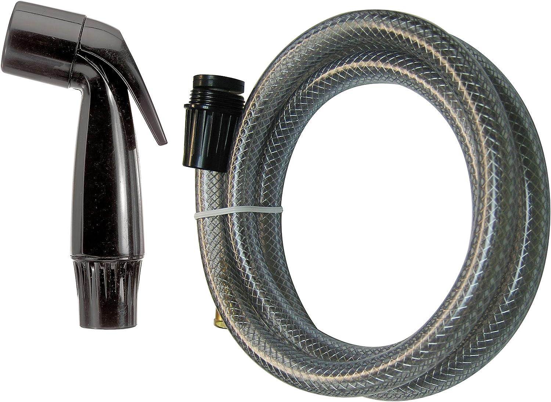 Plastic Black 53 In L Keeney Manufacturing PP815-4 Plumb Pak Sink Sprayer