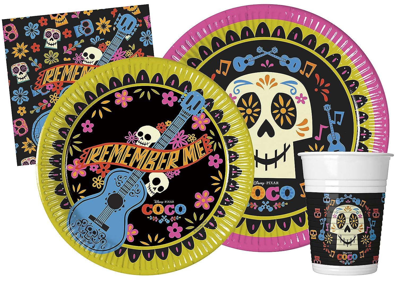 Ciao – Coco Kit Party Tabla, multicolor, L (24 Personas), y4629