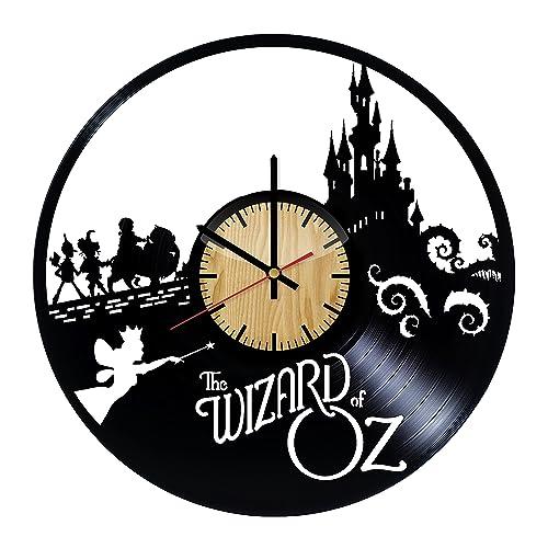 Amazon Com The Wizard Of Oz Vinyl Wall Clock Handmade Gift For
