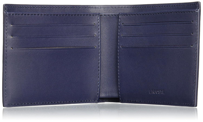 Lacoste - Nh1115fg, Carteras Hombre, Azul (Peacoat), 2x9x11 cm (W x H L): Amazon.es: Zapatos y complementos