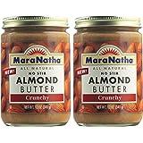 MaraNatha No Stir Crunchy Almond Butter (Pack of 2)