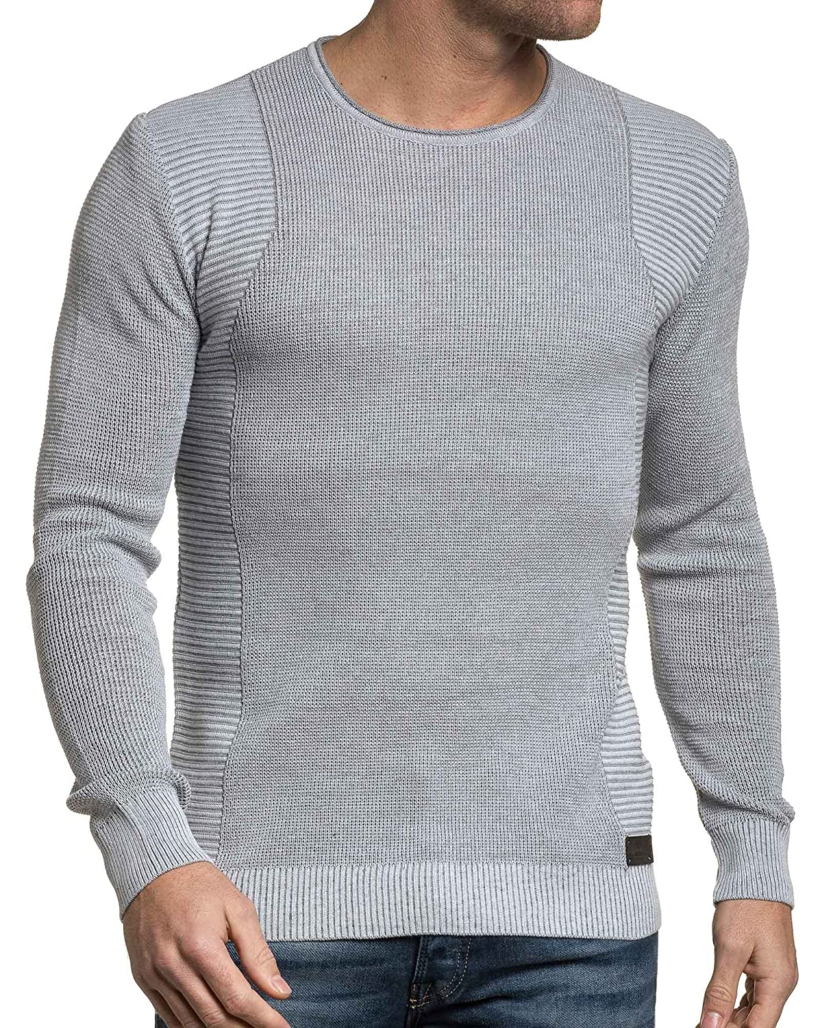BLZ jeans - Pullover end gray man