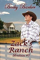 Zack's Ranch - Bridleton #3 Kindle Edition