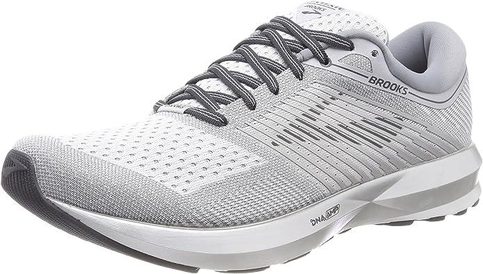 Brooks Levitate Sneakers Damen Grau/Weiß/Silber