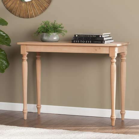 Harrison Unfinished Wood Console Table