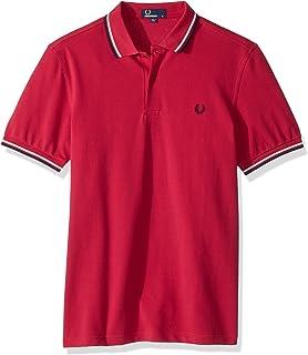 Fred Perry Oxford Collar Pique Shirt Polo, Negro (Black 102), XX ...