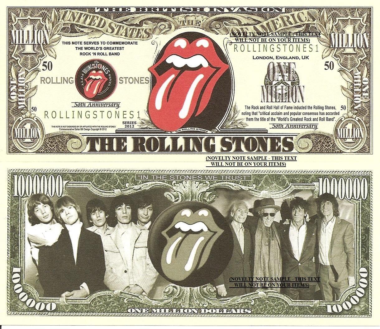 ROLLING STONES MUSIC LYRIC TYPOGRAPHY BLANK GREETINGS BIRTHDAY – Rolling Stones Birthday Card