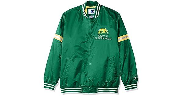 STARTER NBA Seattle Supersonics Men s Legecy Retro Satin Jacket e0f272faf