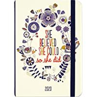 2020 She Believed She Could, So She Did Weekly Planner (16-Month Engagement Calendar)