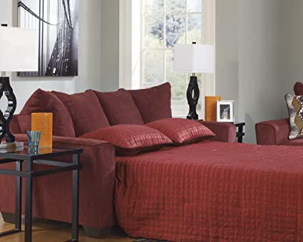 Fine Amazon Com Signature Design By Ashley Brogain Burgundy Pdpeps Interior Chair Design Pdpepsorg
