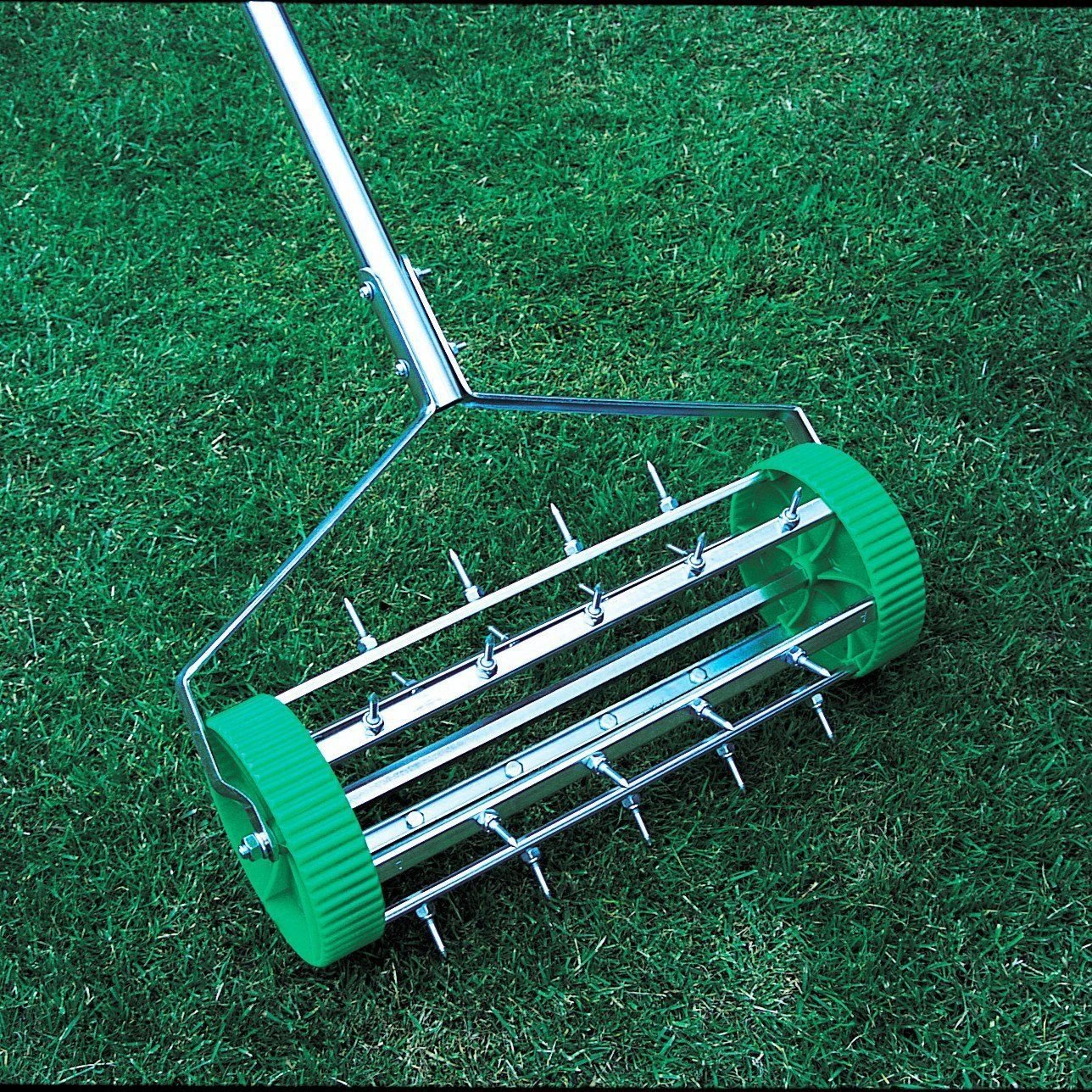 As Direct Ltd ™ Lawn Aerator Rolling Grass Garden Steel Roller Steel Super TV Products