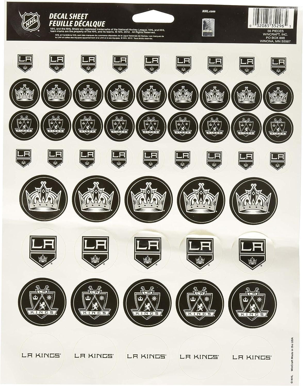 WinCraft NHL Vinyl Sticker Sheet